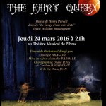 Spectacle Fairy Queen de Purcell