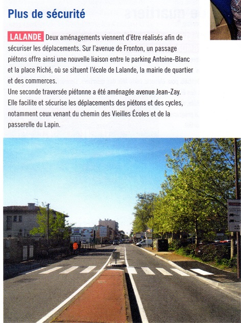 blog -plus de sécurité à Lalande -article à Toulouse N° 44