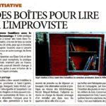 Boite pour lire à Lalande