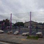 Un terrain multisports à Lalande
